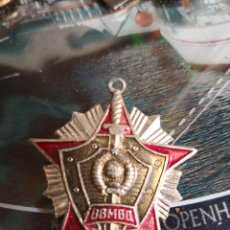 Militaria: PIN ANTIGUO TIPO ALFILER ESTRELLA 4X4. Lote 114778159