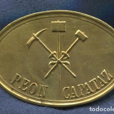 Militaria: INSIGNIA DE PEÓN CAMINERO CAPATAZ. MODELO 1909.. Lote 114907703