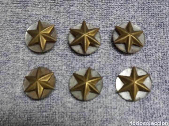 JUEGO DE ESTRELLAS DE OFICIAL (Militar - Insignias Militares Españolas y Pins)
