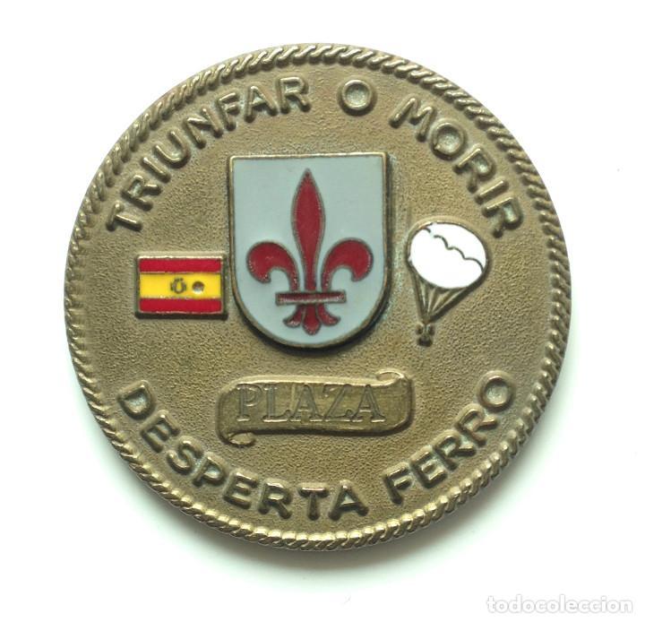 Militaria: MEDALLA DE MANO. BRIGADA PARACAIDISTA ALMOGAVARES VI. - Foto 2 - 114994111