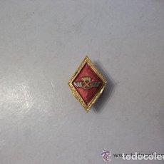 Militaria: AVIACION : EMBLEMA DE SOLAPA DE ALAS PILOTO ( ROKISKI ) , EPOCA DE FRANCO. Lote 115273351