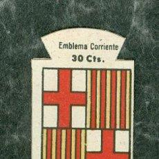 Militaria: EMBLEMA BARCELONA AUXILIO SOCIAL GUERRA CIVIL. Lote 115544123