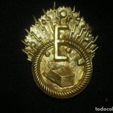 Militaria: EMBLEMA ESPECIALISTA EN EXPLOSIVOS, ARTIFICIERO, ALFONSO XIII. Lote 115628727