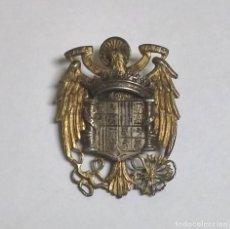 Militaria: ESCUDO DE ESPAÑA EPOCA DE FRANCO, AGUILA, YUGO Y FLECHAS. REALIZADO EN PLATA. MAGNIFICO TRABAJO TALL. Lote 115688319