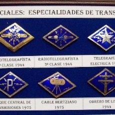 Militaria: ROMBOS ESPECIALIDADES INGENIEROS TRANSMISIONES. Lote 115904771