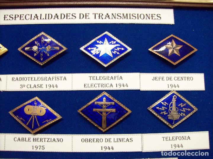 Militaria: ROMBOS ESPECIALIDADES INGENIEROS TRANSMISIONES - Foto 3 - 115904771