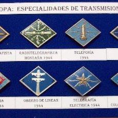 Militaria: ROMBOS ESPECIALIDADES INGENIEROS TRANSMISIONES TROPA. Lote 115904995
