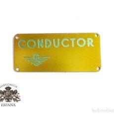 Militaria: INSIGNIA DE CONDUCTOR. Lote 115946599