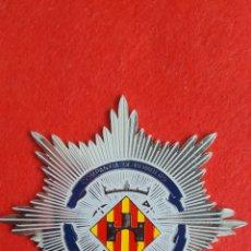 Militaria: PLACA METALICA DE BOMBEROS. Lote 116057876
