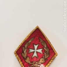 Militaria - ANTIGUO ROMBO OFICIAL MÉDICO DEL EJERCITO - 116153863