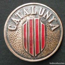 Militaria: INSIGNIA: CATALUNYA, UTILIZADA POR LOS VOLUNTARIOS CATALANES DE LA COLUMNA MACIÀ - COMPANYS. Lote 116387939