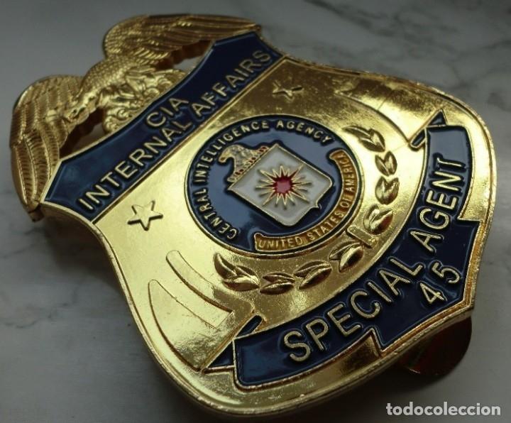 Insignia placa de policia cia de estados unidos vendido en venta directa 116481696 - Oficina del policia ...