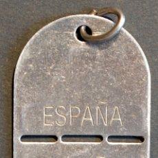 Militaria: PLACA IDENTIFICACION EJERCITO ESPAÑA. Lote 71160525