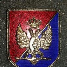Militaria: DISTNTIVO ESCUELA SUPERIOR DEL EJERCITO. ESMALTADO. Lote 116975995