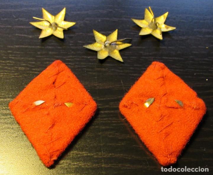 Rombos Cuello De Infanteria Y Tres Estrellas De Vendido En Venta