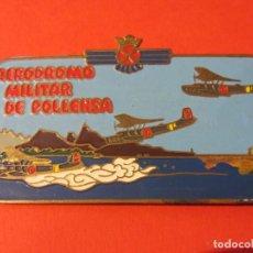 Militaria: INSIGNIA EJERCITO AIRE O AVIACIÓN. BASE HIDROAVIONES DE POLLENSA.. Lote 118703703