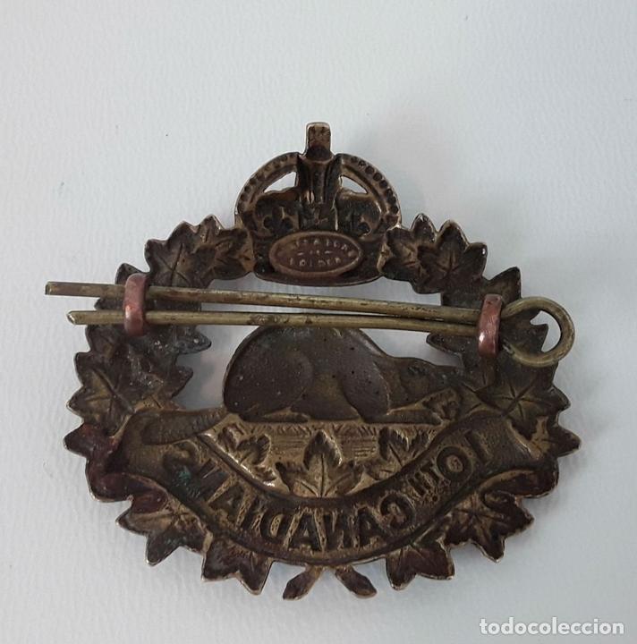 Militaria: PIN INSIGNIA. INFANTERÍA DE BATALLA 10TH CANADIANS. 1914-1920. - Foto 2 - 118980879