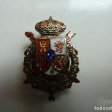Militaria: INSIGNIA DE PLATA. PIN DE SOLAPA. GUARDIA REAL (2,5 CM DE LARGO). Lote 118999143