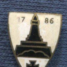 Militaria: ALEMANIA III REICH. INSIGNIA DE SOLAPA DEL KYFFHÄUSERBUND.. Lote 119889431