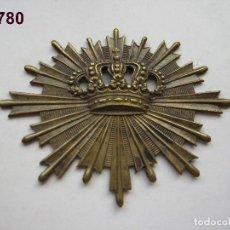 Militaria: INSIGNIA DE CARABINEROS, ÉPOCA ALFONSO XIII. ENVÍO GRATUITO (CERTIFICADO).. Lote 119988755
