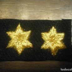 Militaria: PARCHE GALLETA TENIENTE PROVISIONAL, GUERRA CIVIL. Lote 120059043