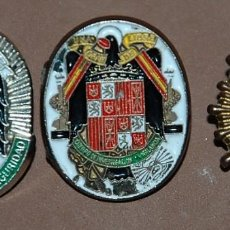 Militaria: LOTE DE TRES PINS DE LA POLICIA NACIONAL. Lote 120147663