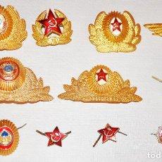 Militaria: LOTE 10 ESCAPARELLAS SOVIETICAS .URSS. Lote 120518403