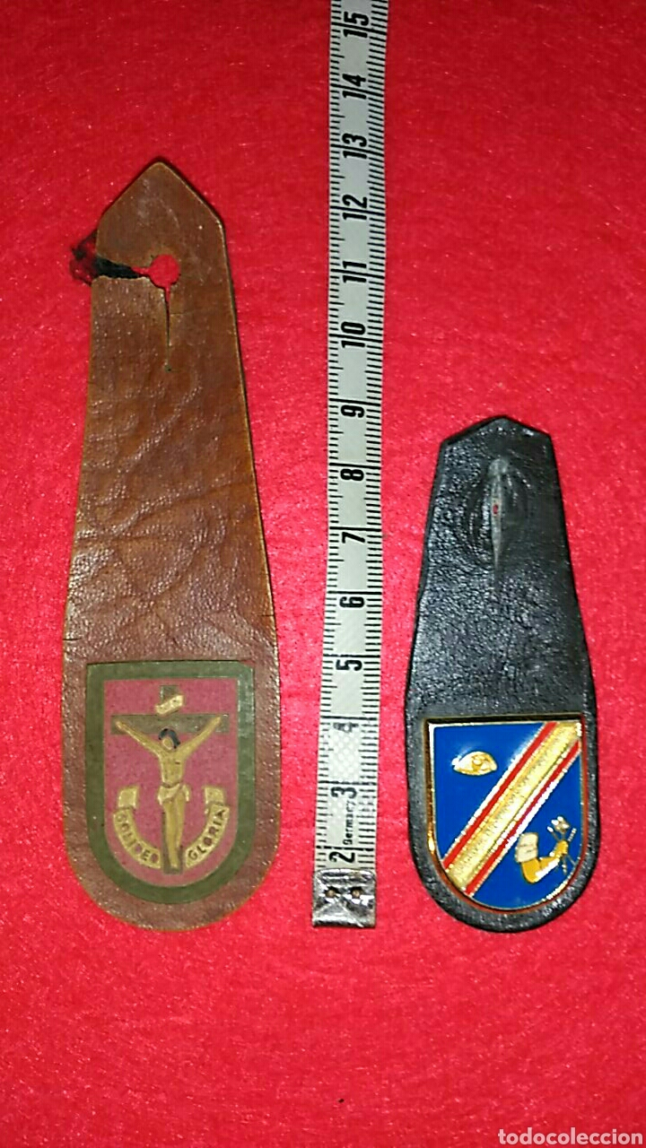 DOS ANTIGUOS PEPITOS DE LA LEGIÓN (Militar - Insignias Militares Españolas y Pins)