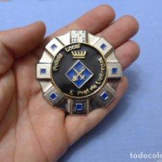 Militaria: * PLACA DE POLICIA DE EL PRAT DE LLOBREGAT, CATALUNYA, ORIGINAL. ZX. Lote 120871099