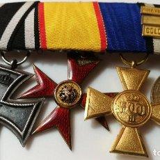 Militaria: PASADOR DE CONDECORACIONES CON CRUZ DE HIERRO 1870. Lote 120977503