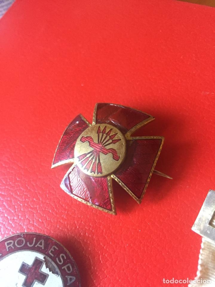 Militaria: Lote medallas Damas Cruz Roja Guerra Civil - Foto 2 - 121363888
