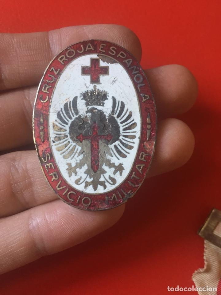 Militaria: Lote medallas Damas Cruz Roja Guerra Civil - Foto 4 - 121363888