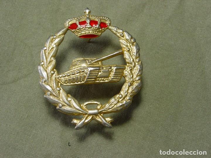 EMBLEMA BOINA CARROS (Militar - Insignias Militares Españolas y Pins)