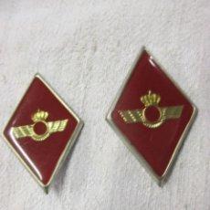 Militaria: PAREJA DE ROMBOS AVIACION, ESMALTE - EXCELENTE CONSERVACION. LOS DE LA FOTO.. Lote 121779923