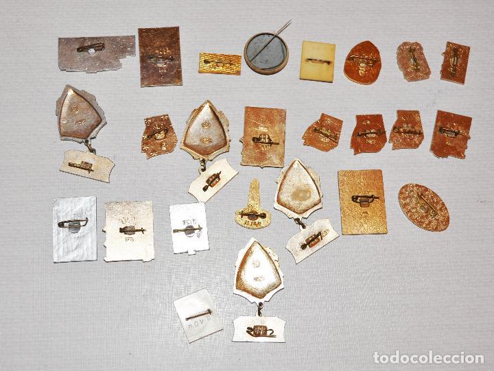 Militaria: Lote 24 insignias sovieticas .Tematica-siudades sovieticas.SGM.URSS - Foto 5 - 122531099