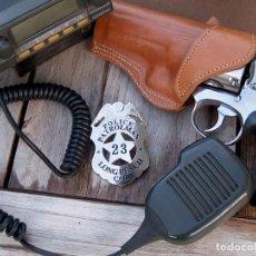Militaria: PLACA POLICÍA CIUDAD DE LONG BEACH, U.S.A.. Lote 122579451