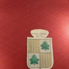 Militaria: EMBLEMA AUXILIO SOCIAL DE SOLAPA SERIE B FIGUERAS Nº 15 , 30 CTS. Lote 123767919