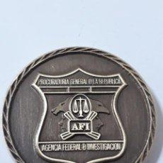 Militaria: MEDALLA MONEDA DE PROCURADURIA GENERAL DE LA REPUBLICA.AGENCIA FEDERAL DE INVESTIGACIÓN.MÉXICO. Lote 124317731