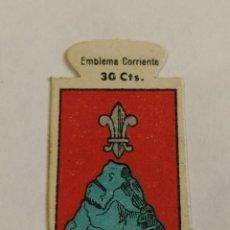 Militaria: EMBLEMA AUXILIO SOCIAL DE SOLAPA SERIE B Nº 42 AGRAMUNT CORRIENTE 30 CTS. Lote 124645055