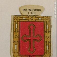 Militaria: EMBLEMA AUXILIO SOCIAL DE SOLAPA SERIE B Nº 48 VILANOVA ESPECIAL 1 PTS. Lote 124646915