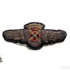 Militaria: DISTINTIVO DE PILOTO, ROKISKI BORDADO - 7,5 CM DE LARGO. Lote 124669935