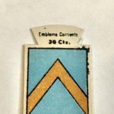 Militaria: EMBLEMA AUXILIO SOCIAL DE SOLAPA SERIE B Nº 114 LLUCH CORRIENTE 30 CTS. Lote 125072699
