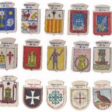 Militaria: LOTE 21 EMBLEMAS DE AUXILIO SOCIAL EMBLEMA CORRIENTE SERIE VARIADO. Lote 125094551