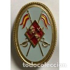Militaria: PERFECTO DISTINTIVO PERMANENCIA Y CON ESTUPENDO DE CABALLERIA PARA OFICIALES DE LA GUARDIA CIVIL . Lote 149454841