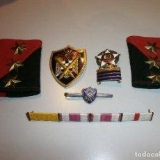 Militaria: LOTE DE MEDALLA E INSIGNIAS MILITARES ANTIGUAS . Lote 125144307