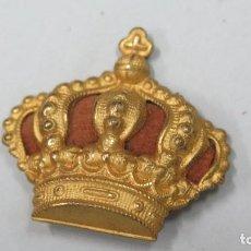 Militaria: CORONA PARA BOINA O UNIFORME. ALFONSO XIII. Lote 125168499