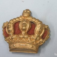 Militaria: CORONA PARA BOINA O UNIFORME. ALFONSO XIII. Lote 125168519
