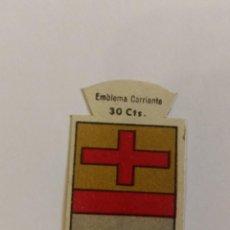 Militaria: EMBLEMA AUXILIO SOCIAL DE SOLAPA SERIE B Nº 131 ARRIA CORRIENTE 30 CTS. Lote 125272815