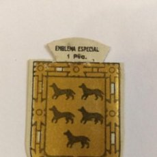 Militaria: EMBLEMA AUXILIO SOCIAL DE SOLAPA SERIE B Nº 135 ANDRADE ESPECIAL 1 PTS. Lote 125273655