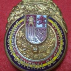 Militaria: PLACA ORIGINAL DIRECCIÓN GENERAL DE SEGURIDAD II REPÚBLICA. Lote 126211939